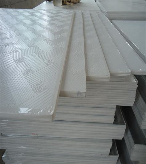 Laminated Ceiling Board China Pvc Laminated Gypsum Board Ceiling Tiles China Pvc