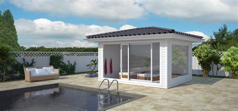 terrasse holz bauen 1844 pool mit eigenem poolhaus