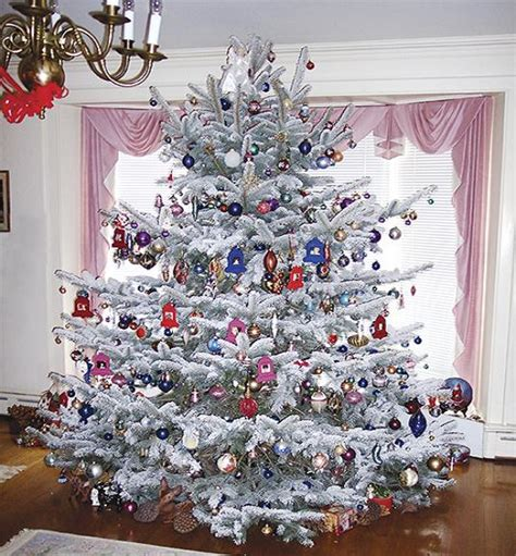 wonderful decorating ideas for 2016 - Decorated White Tree Ideas