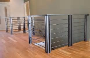 image gallery metal banister