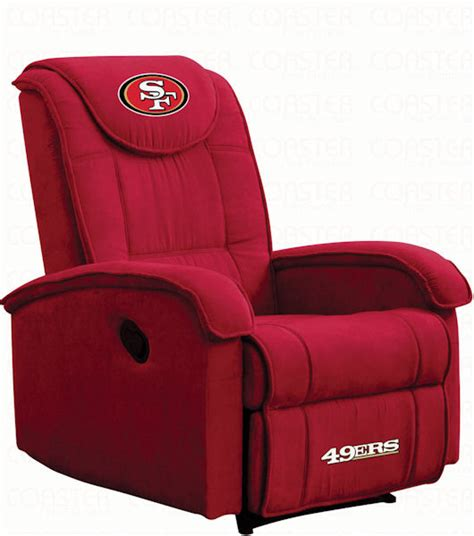 San Francisco 49ers Recliner Stargate Cinema