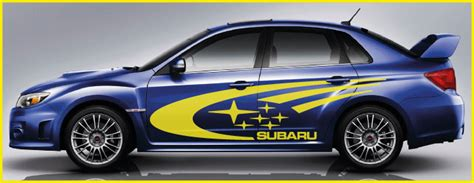subaru side decal subaru impreza graphics subaru impreza graphics 163 59 99