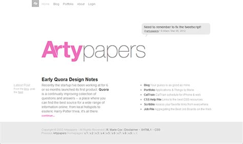 Or Questions Clean Text Website Design What Are Exles Of Web Apps With Clean Text Based Layouts Graphic Design