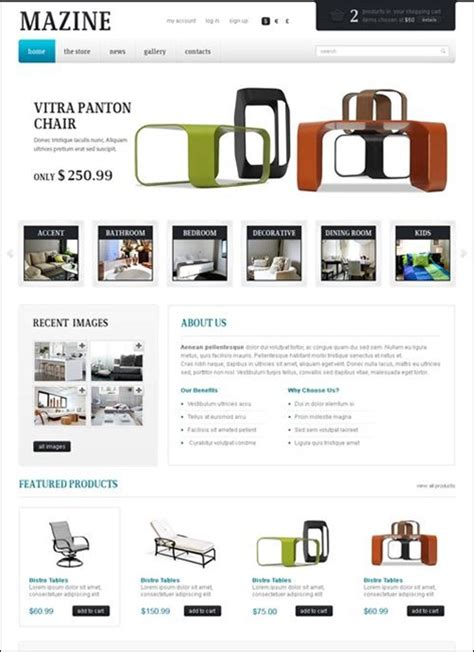 e commerce templates 40 fresh ecommerce themes part 2