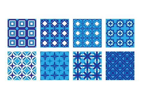 Tiles Pattern Vector | free portuguese tile pattern vector download free vector