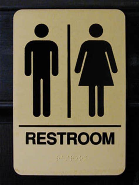 scottish bathroom signs restroom sign