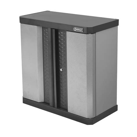 Kobalt Storage Cabinets Shop Kobalt 30 In H X 30 In W X 14 5 In D Metal Garage Cabinet At Lowes