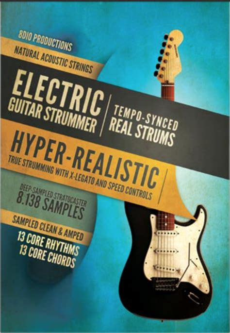 8dio Songwriting Guitar Review by 8dio Electric Guitar Strummer 8dio Electric Guitar Strummer Banshee In Avalon