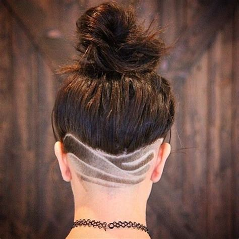 undercut neck pattern 50 shaved hairstyles that will make you look like a badass