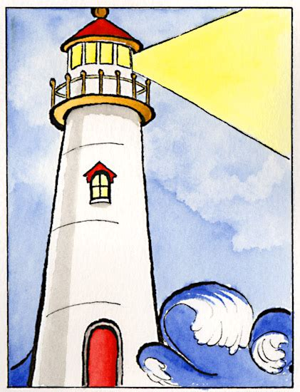 Lighthouse Clip Free