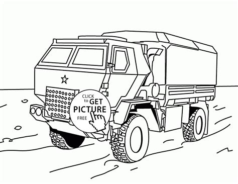 army truck coloring pages printable coloring pages
