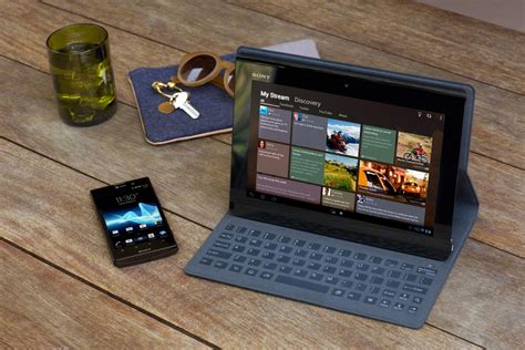 Tablet Sony Xperia S sony s new xperia tablet s features microsoft surface like keyboard cover gadget lab wired