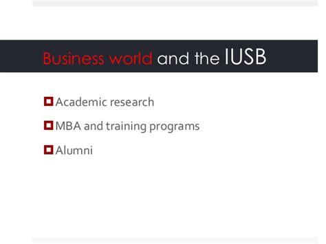 Mba Iusb by Istanbul School Of Business Economic