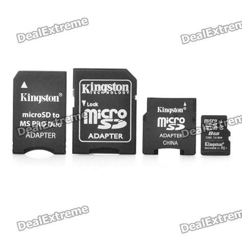 Memory Micro Sd V genuine kingston 8gb class 4 tf micro sd memory card w