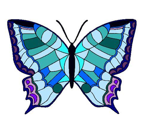 imagenes de mariposas para imprimir a color dibujo de mariposa pintado por mariposa en dibujos net el