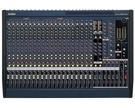 Yamaha Audio Mixer Di Malaysia yamaha mg24 14fx mixer 24 canali suonostore