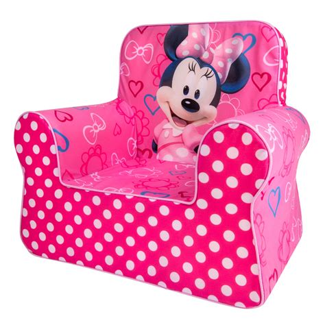 Minnie Mouse Recliner Chair by Spin Master Marshmallow Furniture Marshmallow Comfy