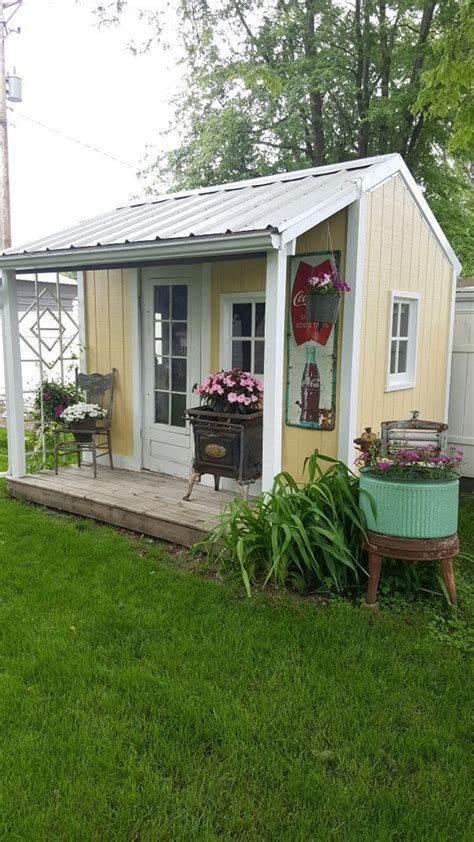 style your she shed 992 best garden sheds play houses and greenhouses images