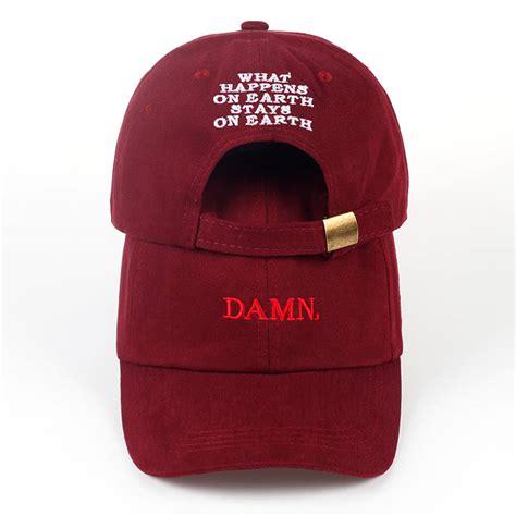 Kendrick Lamar Original Topi Damn Cap 1 damn kendrick lamar cap hype outlet