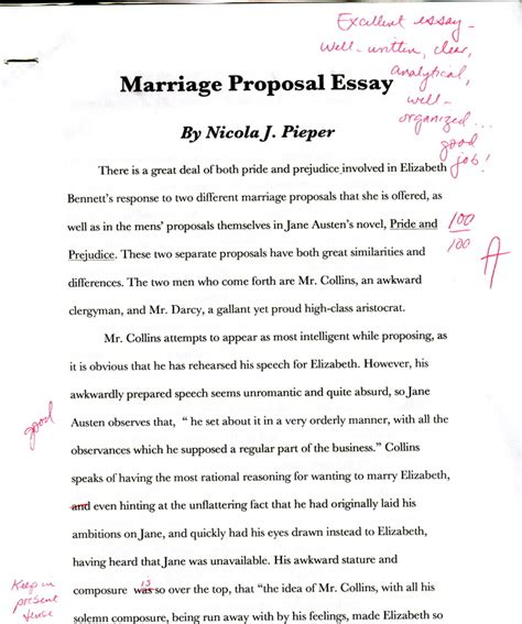 Essay On Marriage by Marriage Essay Nicola S Portfolio