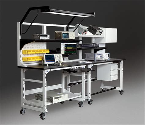 tech work bench techbench and techorganizer desk workbench system