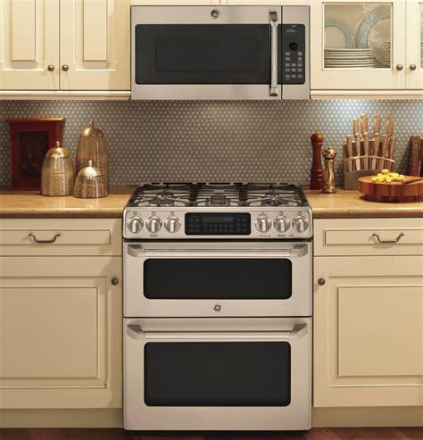 Ge Monogram 36 Cooktop Ge Cgs990setss 30 Inch Slide In Caf 233 Series Double Oven