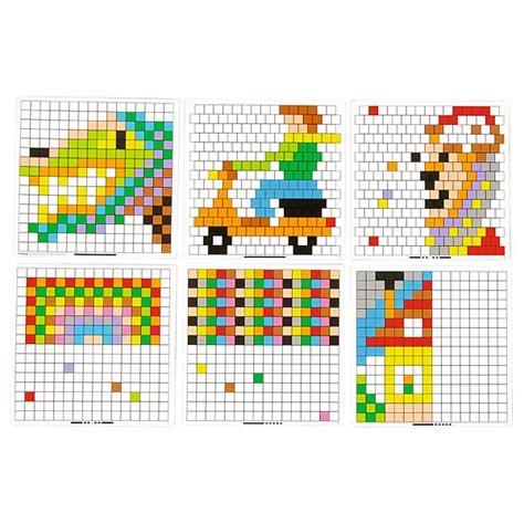 vorlagen fuer quadrat mosaik steckspiel insgraf