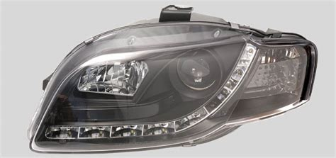 Audi A4 Headlight by Headlights Replacement Headlights For Audi Projector