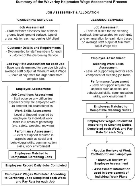 disability policy template analysis of wage assessment tools used by business