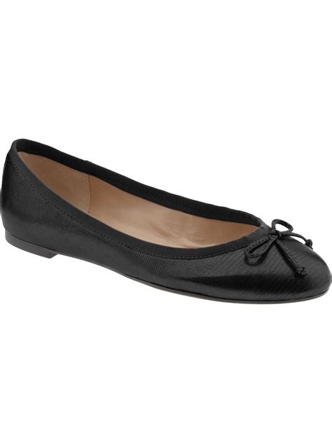 black ballet flats shoes banana republic bow ballet flat in black black