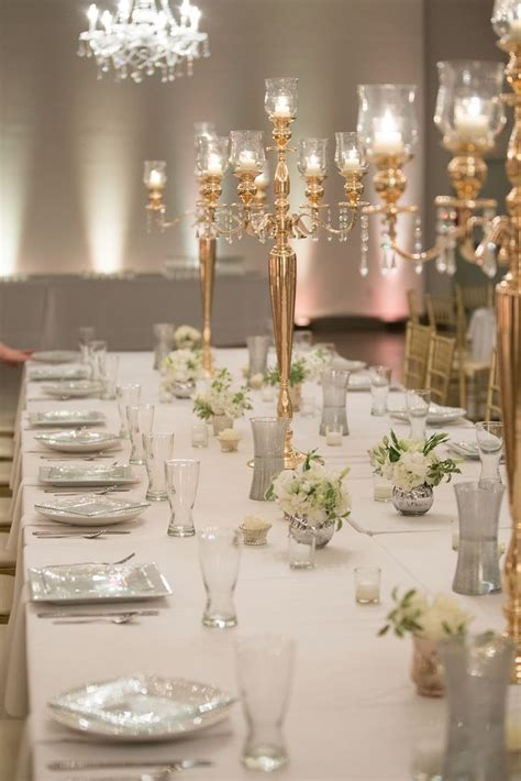 gold table centerpieces 25 best ideas about candelabra centerpiece on
