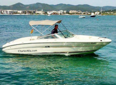 speed boat ibiza formentera hire sea ray 210 speed boat in ibiza and formentera