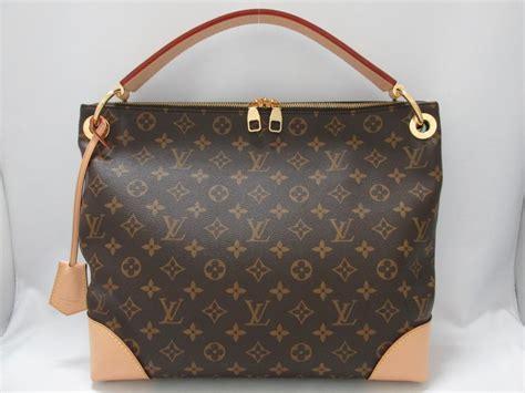 auth louis vuitton berri pm handbag handle bag monogram