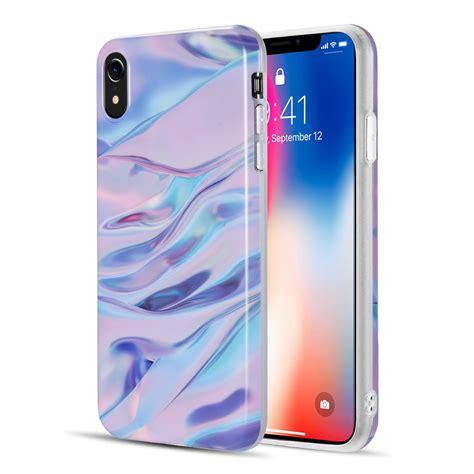 iphone xr  marble series imd soft tpu case walmartcom