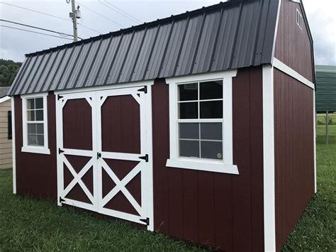 painted lofted  barn