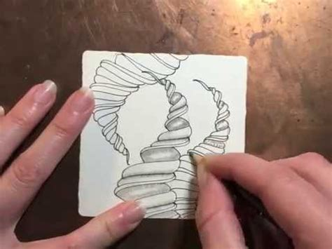 zentangle pattern youtube how to draw the zentangle 174 pattern narwal youtube