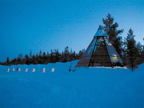 finland northern lights igloo igloo hotel kakslauttanen