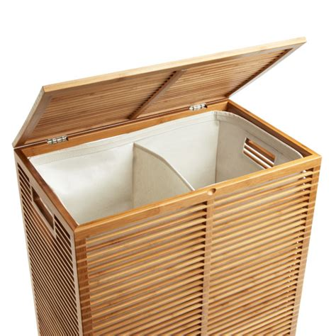 Zen Bamboo Laundry Her The Container Store Container Store Laundry