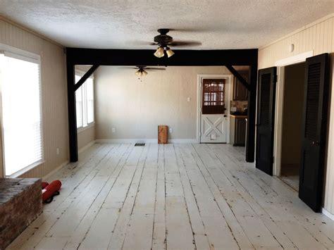 big room painted hardwood floors for more interesting interiors amaza design