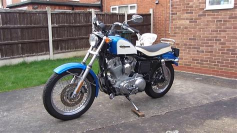 sportster bench seat evo sportster with ironhead bench seat fitted youtube