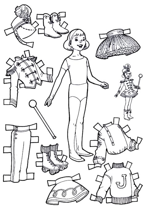 How To Make Cut Out Paper Dolls - how to make cut out paper dolls 28 images 6 best
