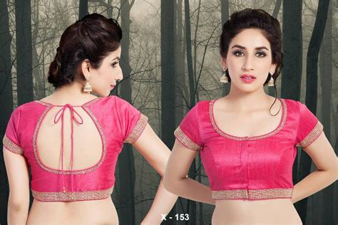 Blouse 153in buy dupion silk ready made saree blouse padded x 153 designer vama blouse collection from
