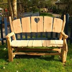 Rustic Wooden Benches Outdoor Gartenbank F 252 R Die Gestaltung Einer Kleinen Oase Im Freien