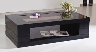 tisch mit schwarzer glasplatte black glass coffee table black narrow coffee table