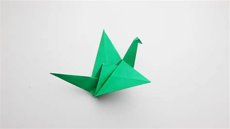 A Paper Bird - how to make an origami flapping bird 14 steps with pictures
