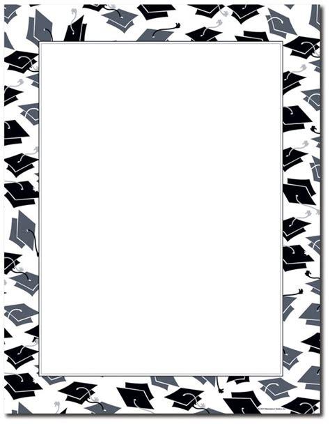 printable graduation letters free printable graduation paper mortar hat border