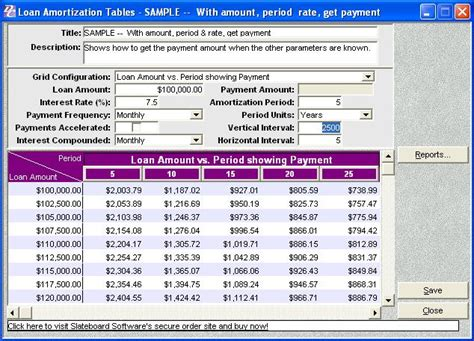 printable amortization schedule with dates debt elimination calculator software plus edition features