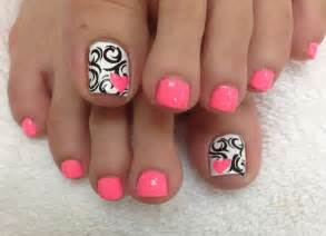 toe nails for spring 2016 nail art styling
