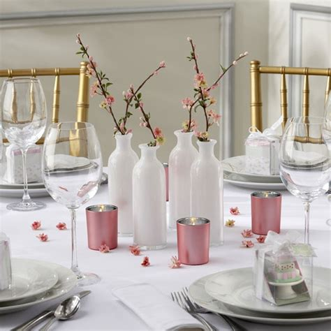 cherry blossom table decorations cherry blossom centerpieces wedding ideas