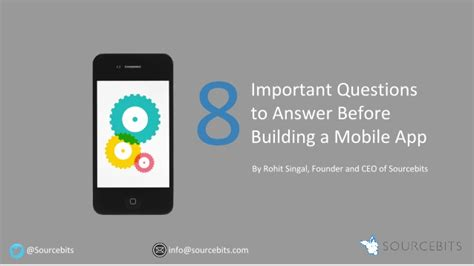 mobile application design questions 8 important questions you need to answer before building a